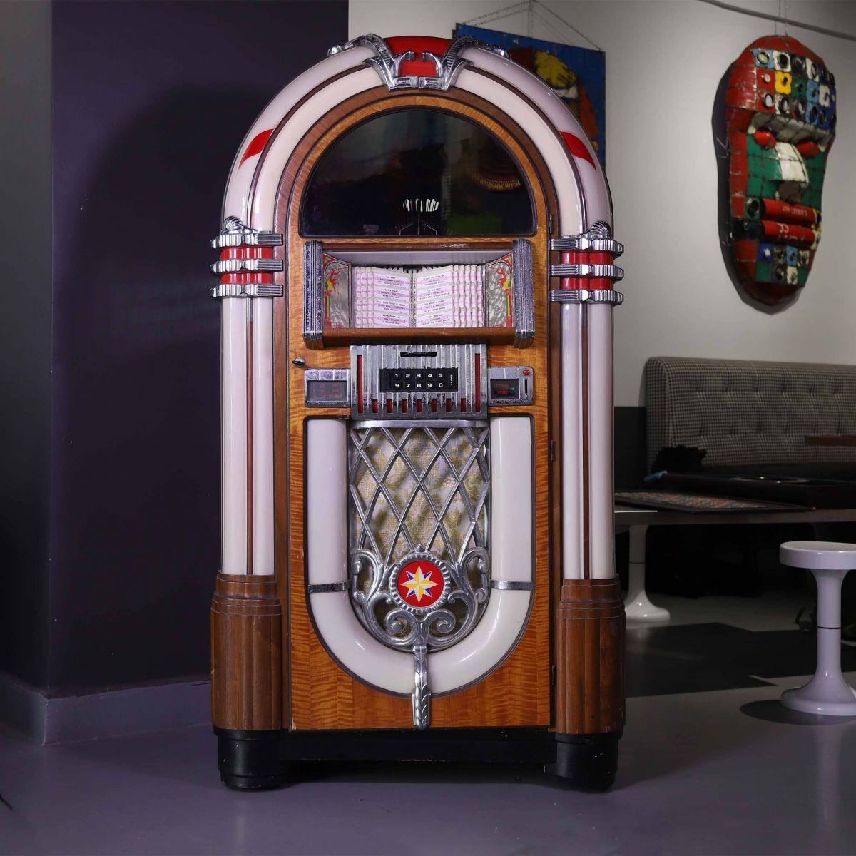 Jukebox Wurlitzer 1015 de 1947