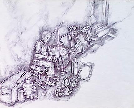Artisan Forgeron Ambulant 'I-hham